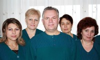 Doctor Vitaliy Veklich and Orthopaedic clinic Ladisten staff